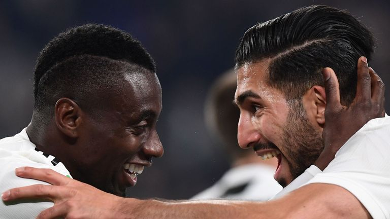 Blaise Matuidi (L) was linked with PSG in the summer