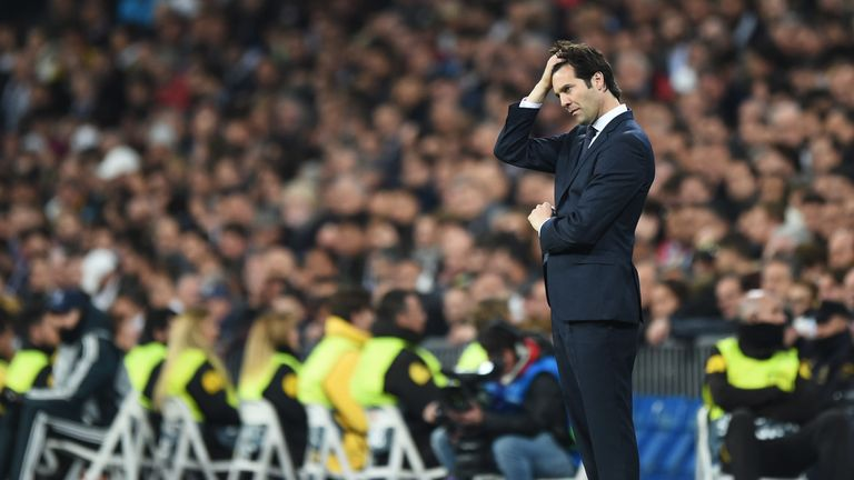 Solari will be replaced by Zidane on Monday evening after a meeting with Real's board of directors