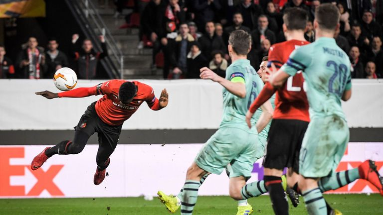 Sarr added a potentially crucial third with a stooping 88th minute header
