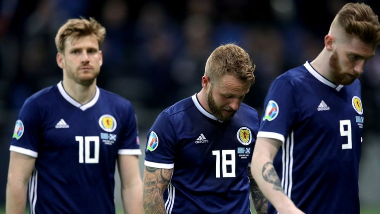 Scotland after their shock defeat to Kazakhstan