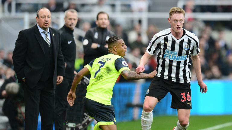 Longstaff made 13 appearances for Newcastle last season