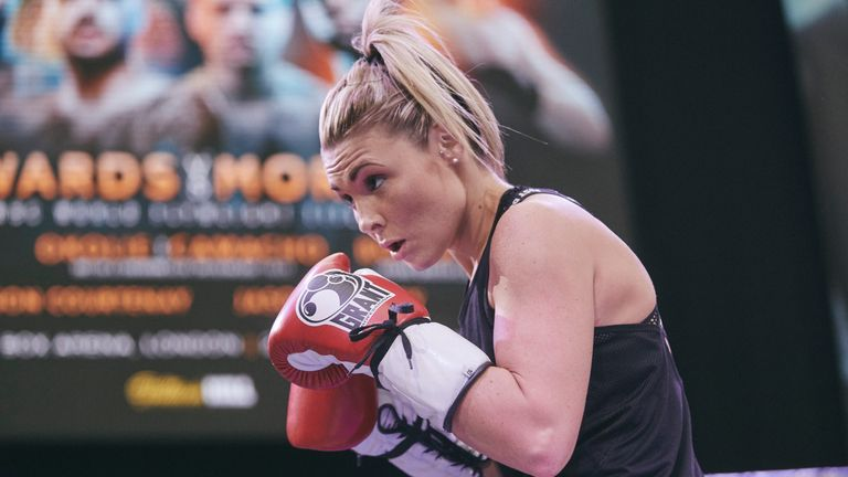 Shannon Courtenay fights for the first time in the paid ranks against Cristina Busuioc in a four-rounder on the undercard at the Copper Box Arena