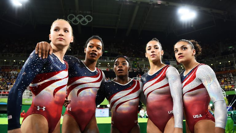 Biles and Team USA took a brilliant gold in 2016