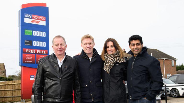Formula 1 2019: Sky Sports F1 takes over petrol garage!