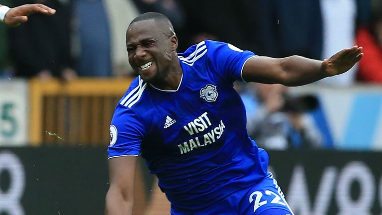 Cardiff s Sol Bamba ruled out for rest of season with ACL injury ... 8430acde64ecc