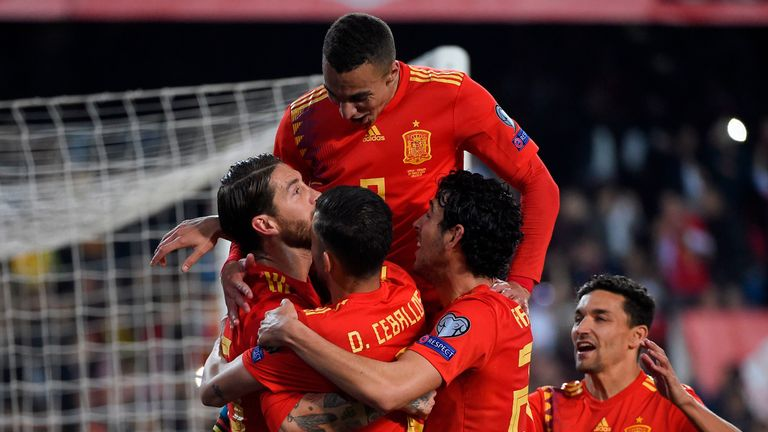 Ramos kept his cool from the spot after Alvaro Morata was fouled