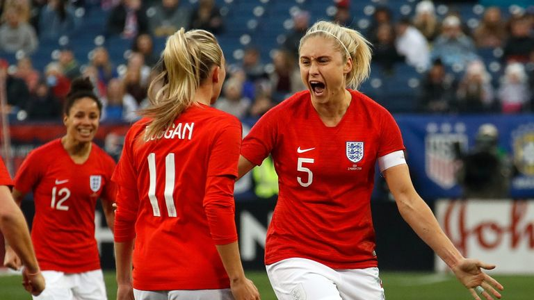 Women's football should be seen the same as the men's game, says Michelle