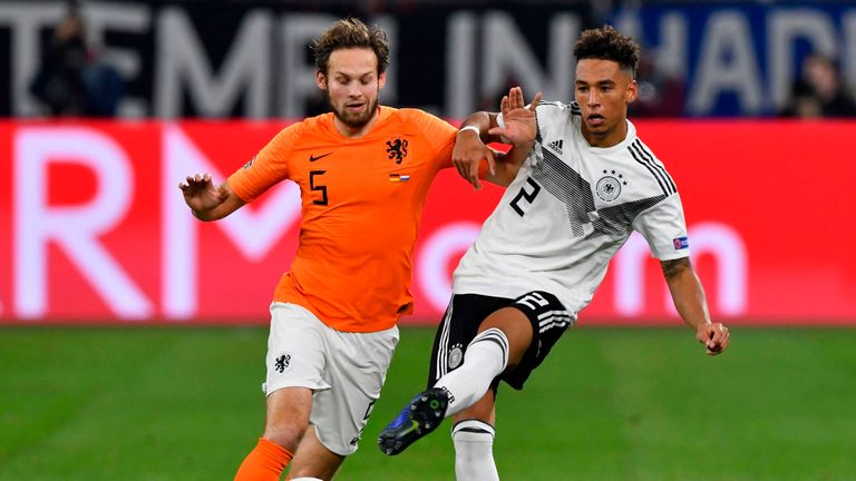 Thilo Kehrer has started the last three Germany matches