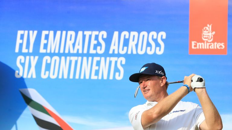 Ernie Els is only two behind as he bids for a first win since 2013