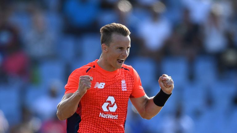 Tom Curran will be sweating on his World Cup spot