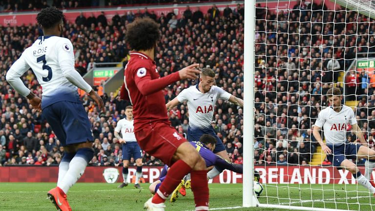 Pochettino refused to blame anyone for the late Liverpool winner