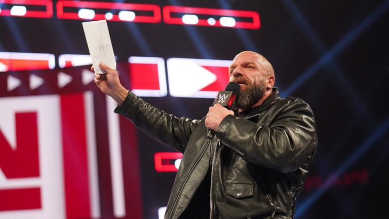 Triple H is seen as the 'godfather' of NXT, which made its debut on American network television this week
