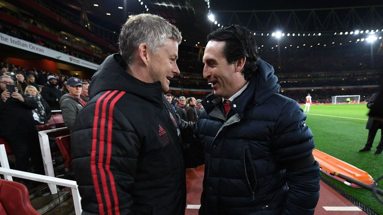 Ole Gunnar Solskjaer takes his side to the Emirates for a crucial game in the top-four race on Sunday