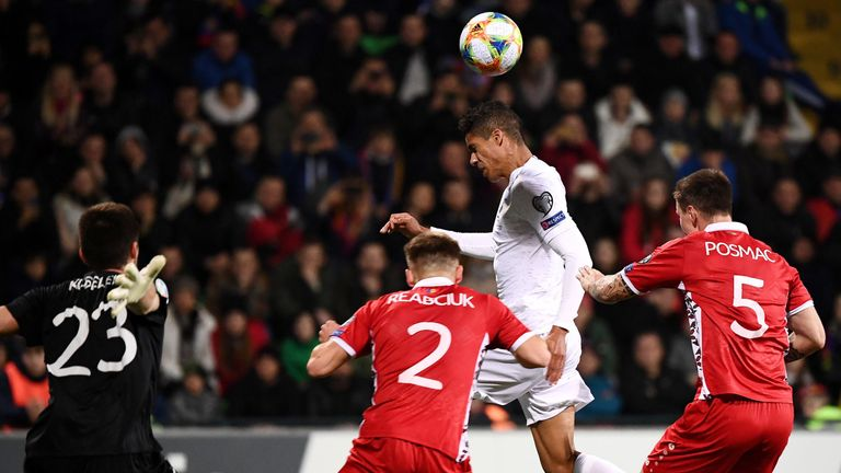 Moldova 1-4 France: Antoine Griezmann and Kylian Mbappe on target for world champions