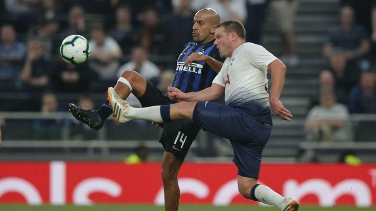 Juan Sebastian Veron was in action for Inter Forever