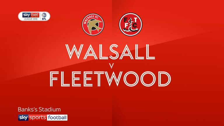 Walsall vs Fleetwood preview