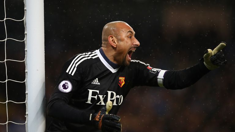Heurelho Gomes could return in goal for Watford for the quarter-final