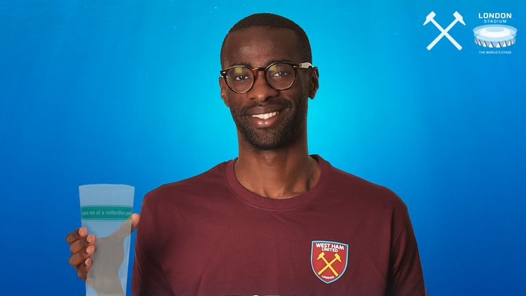 West Ham's Pedro Obiang backing the Sky Ocean Rescue campaign