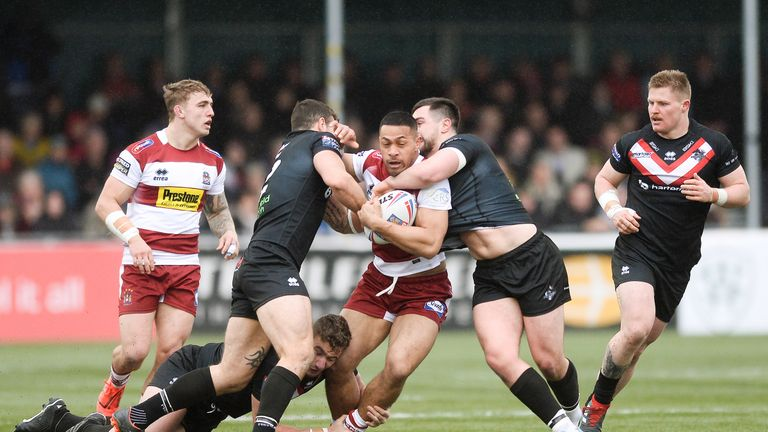 Willie Isa has a lot of added responsibility for Wigan with several other players out injured