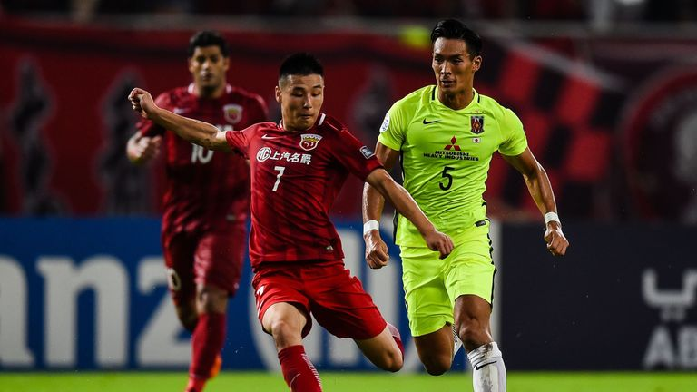 Wu joined Espanyol from Shanghai SIPG