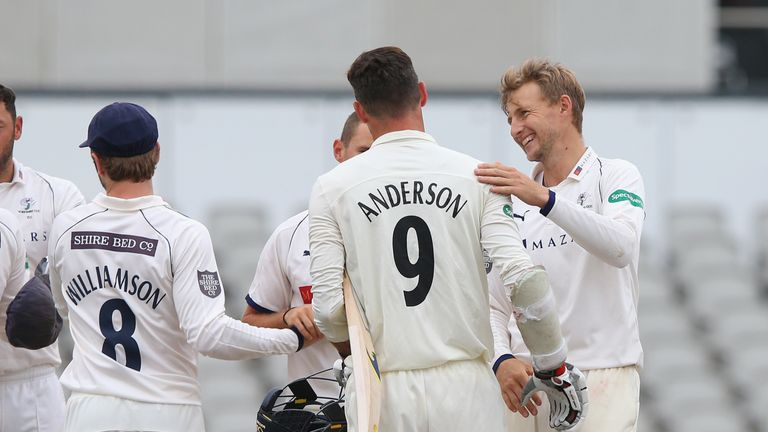 Number and names have been printed on shirts in the County Championship since 2003