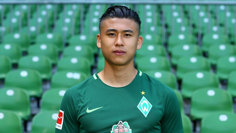 Zhang Yuning did not make a big impression at Werder Bremen