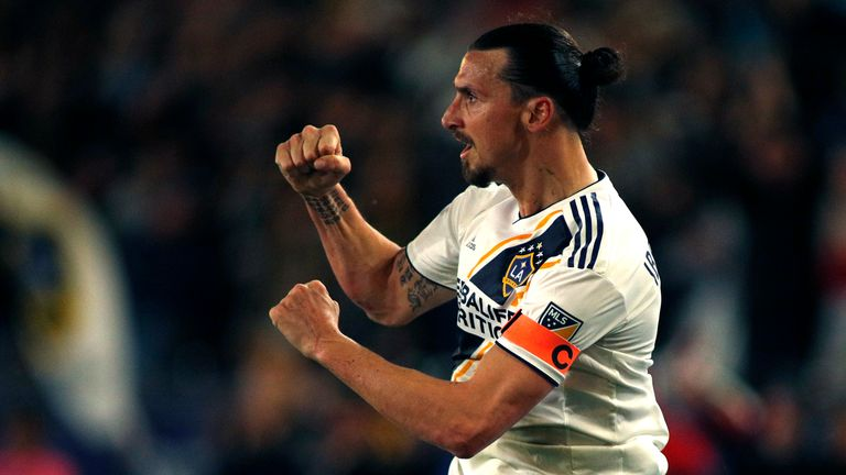 Ibrahimovic left Old Trafford to join LA Galaxy in March 2018