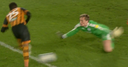 WATCH: Wigan keeper's howler