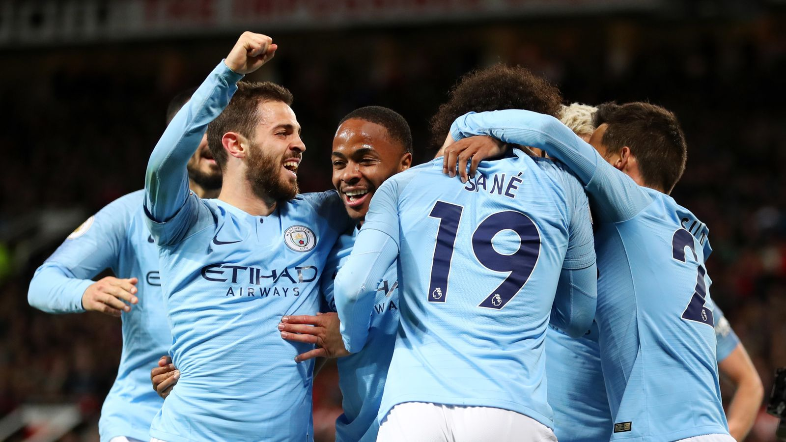 Man Utd 0 - 2 Man City - Match Report & Highlights