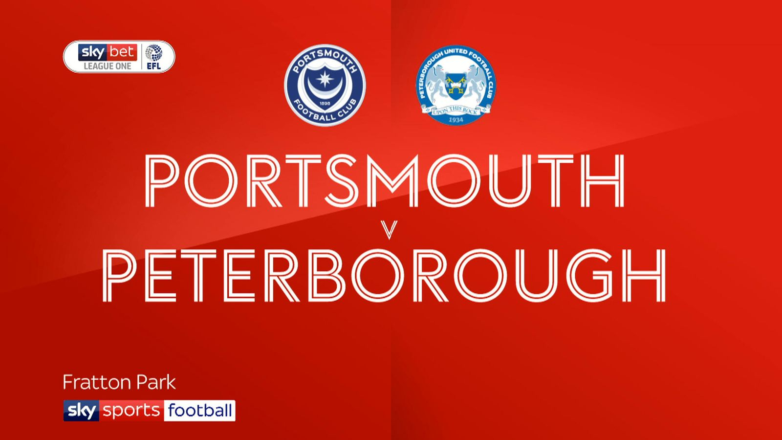 Match Report - Portsmth 2 - 3 Peterboro | 30 Apr 2019