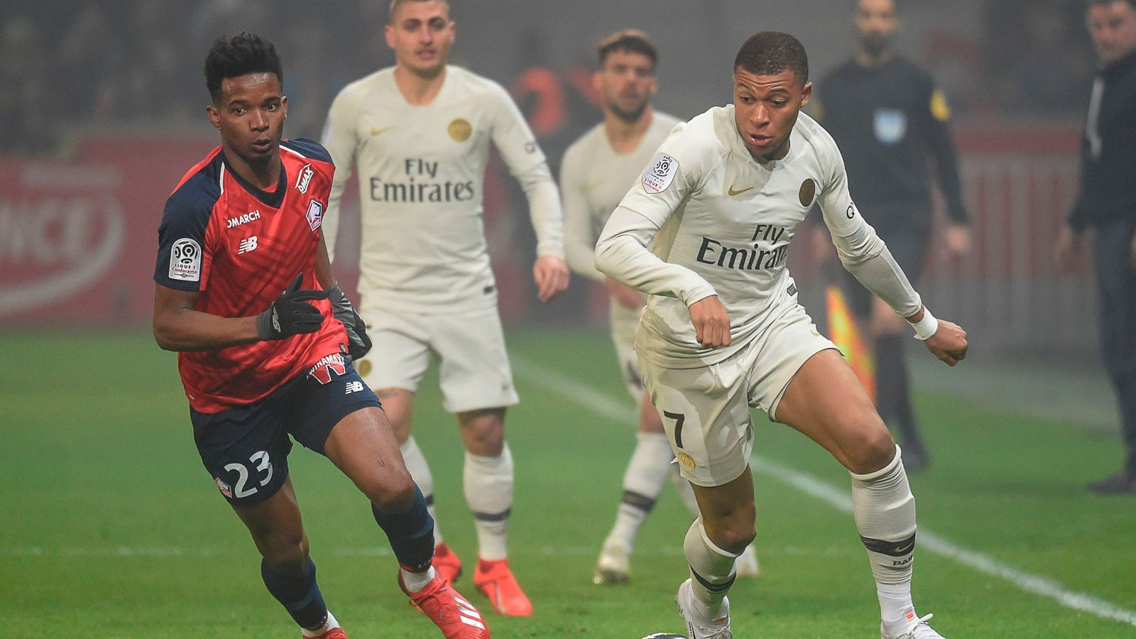 0cb039821c0 Lille 5-1 Paris Saint-Germain: Ligue 1 holders suffer surprise thrashing by  Lille
