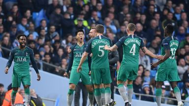 Man City vs Tottenham player ratings