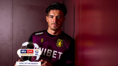 Grealish wins Goal of the Month