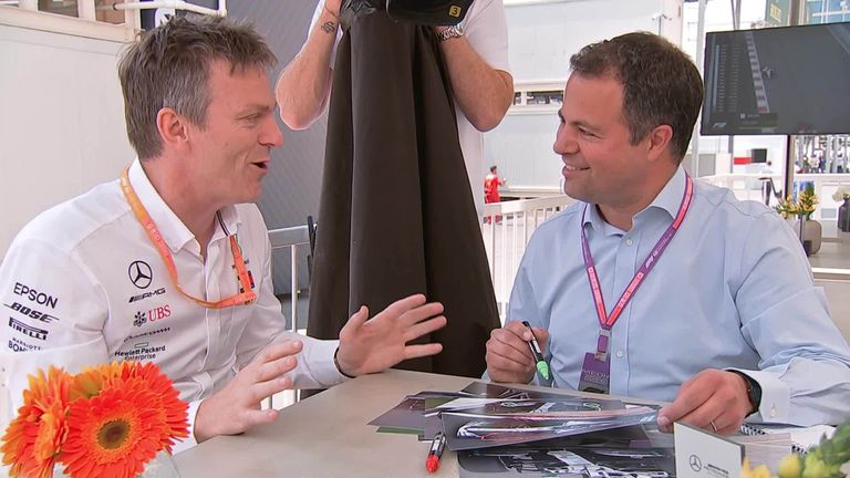 Mercedes technical director James Allison joins Ted Kravitz to explain the changes to the 2019 Mercedes car
