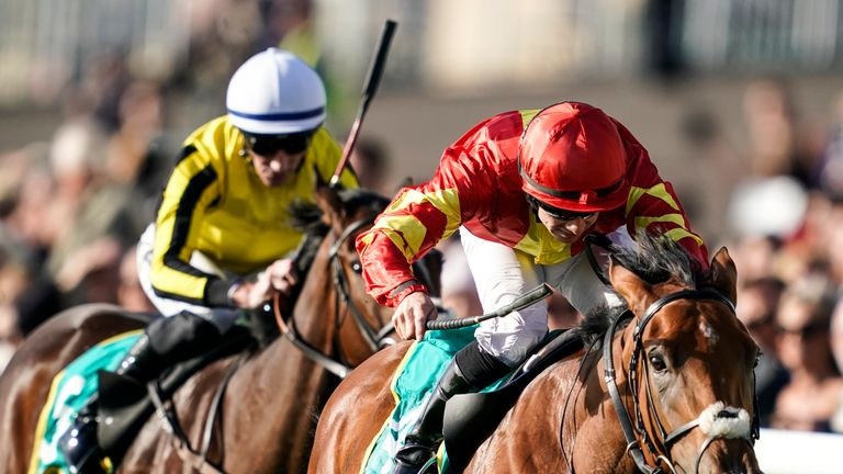 Iridessa - has stamina to prove at the Curragh