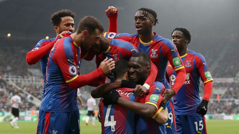 Highlights from Crystal Palace's 1-0 win against Newcastle in the Premier League