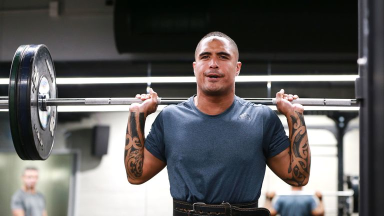 Aaron Smith has been used sparingly at club level with the World Cup in mind