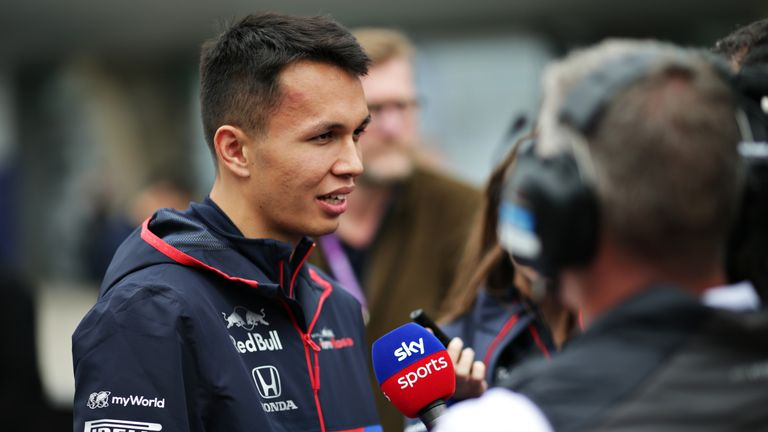 Alex Albon proud of start to F1 career with Toro Rosso | F1 News