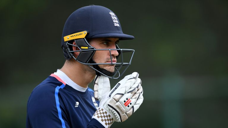 Hales has scored 2419 runs in 70 ODIs for England
