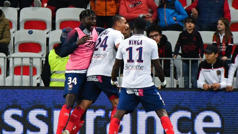 Alexander Djiku's goal kept Caen's slim hopes of survival alive