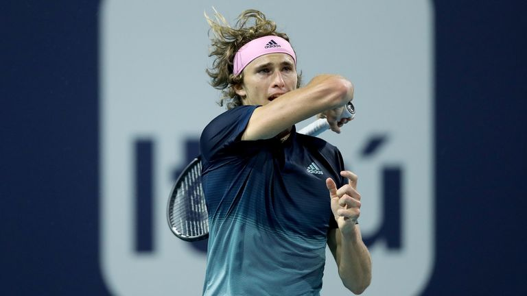 Alexander Zverev came through against Denis Istomin in Marrakesh on Tuesday