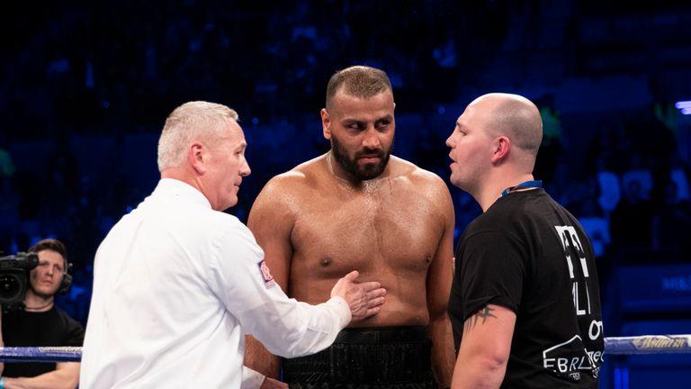 Ali's licence suspended after David Price bite
