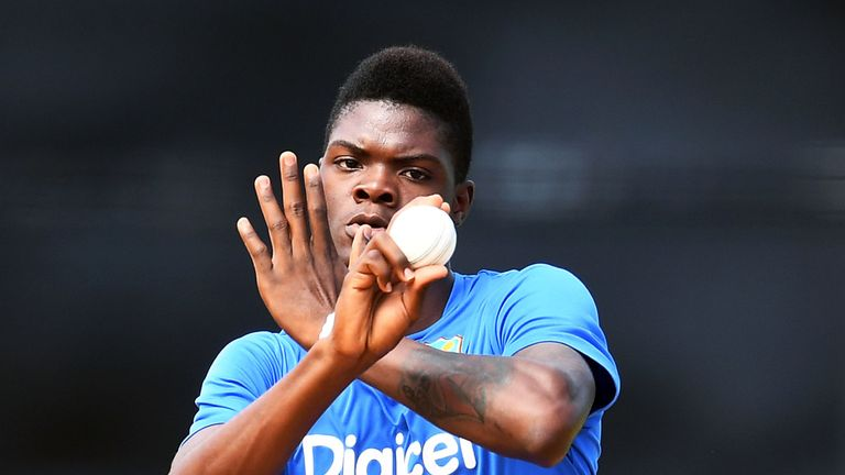 Alzarri Joseph has been left out as West Indies manage his recovery from injury