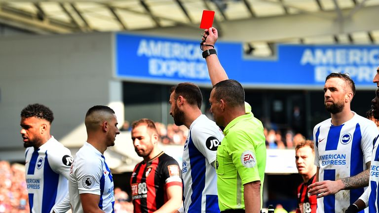 Anthony Knockaert is suspended following his rash challenge on Adam Smith