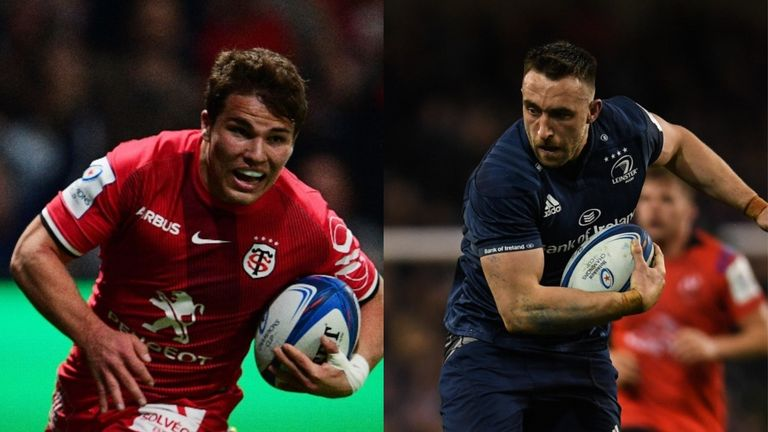Toulouse's Antoine Dupont and Leinster's Jack Conan feature in our Team of the Week