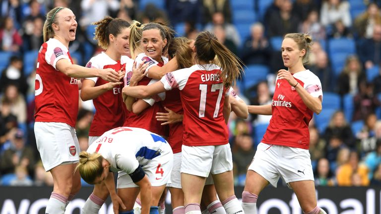 Arsenal Women sealed their first Super League title since 2012