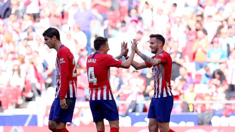 Atletico Madrid scraped past Real Valladlid with a 1-0 victory