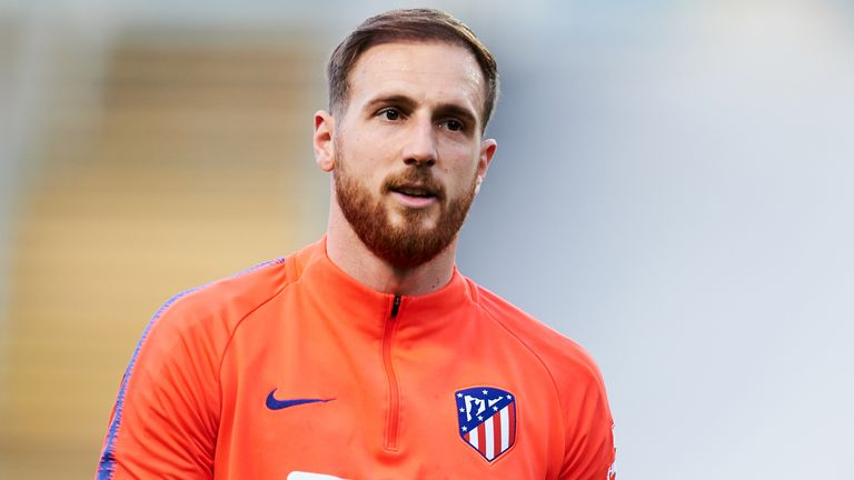 Jan Oblak signed a contract with Atletico Madrid until 2023 last year