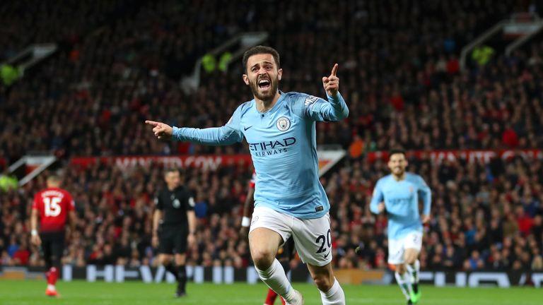 Bernardo Silva helped Manchester City win a domestic treble this season