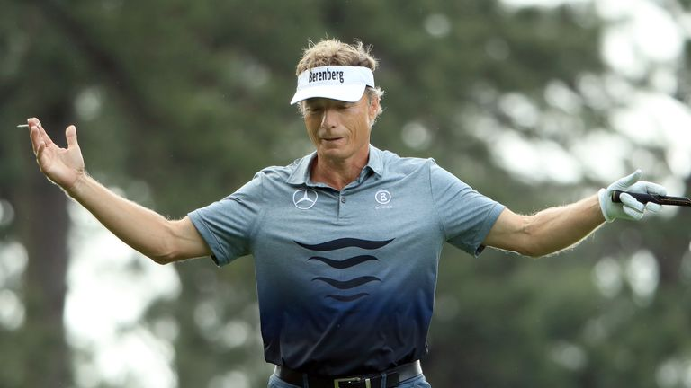 Langer claims his group was being held up